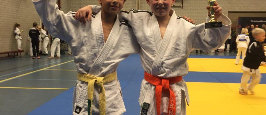 Judoka's van Van Gils Sport succesvol in Tilburg
