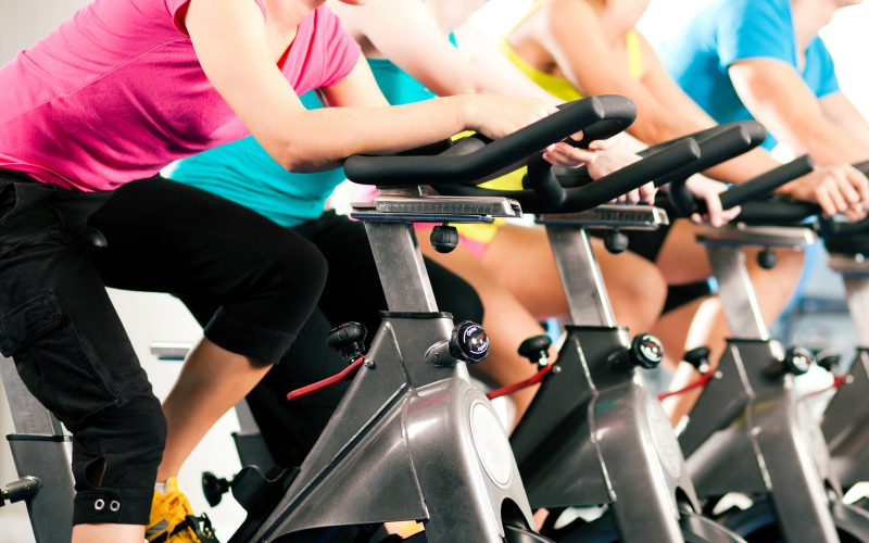 Indoor cycling, spinning Dongen